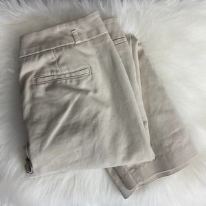 ATTYRE Mid Rise Cropped Chino Pants Size 8